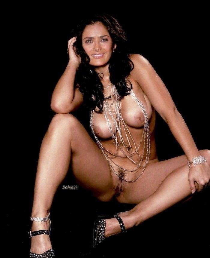 Salma Hayek Nago. Zdjęcie - 7
