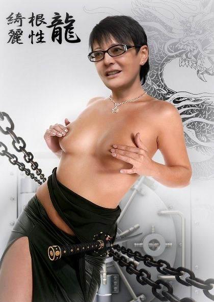Ирина Хакамада голая. Фото - 3