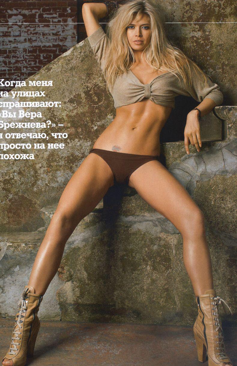Вера Брежнева голая. Фото - 5