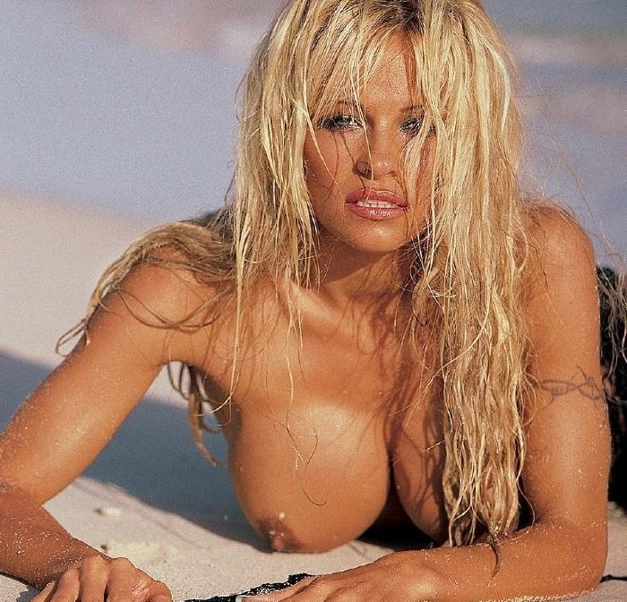 Pamela Anderson poses fully naked. Gallery - 3