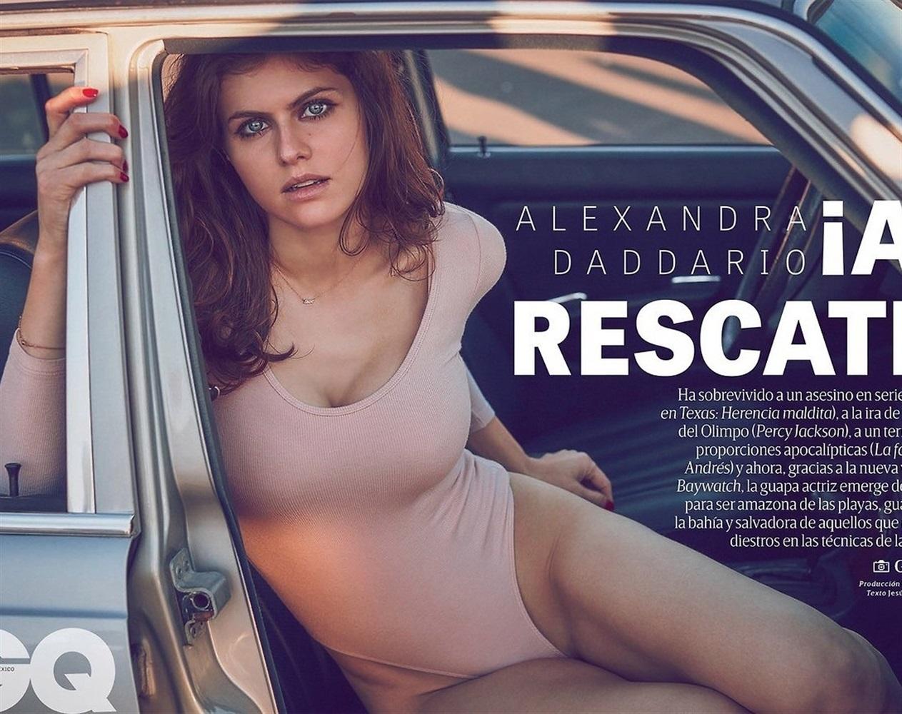 Alexandra Daddario Nago. Zdjęcie - 46