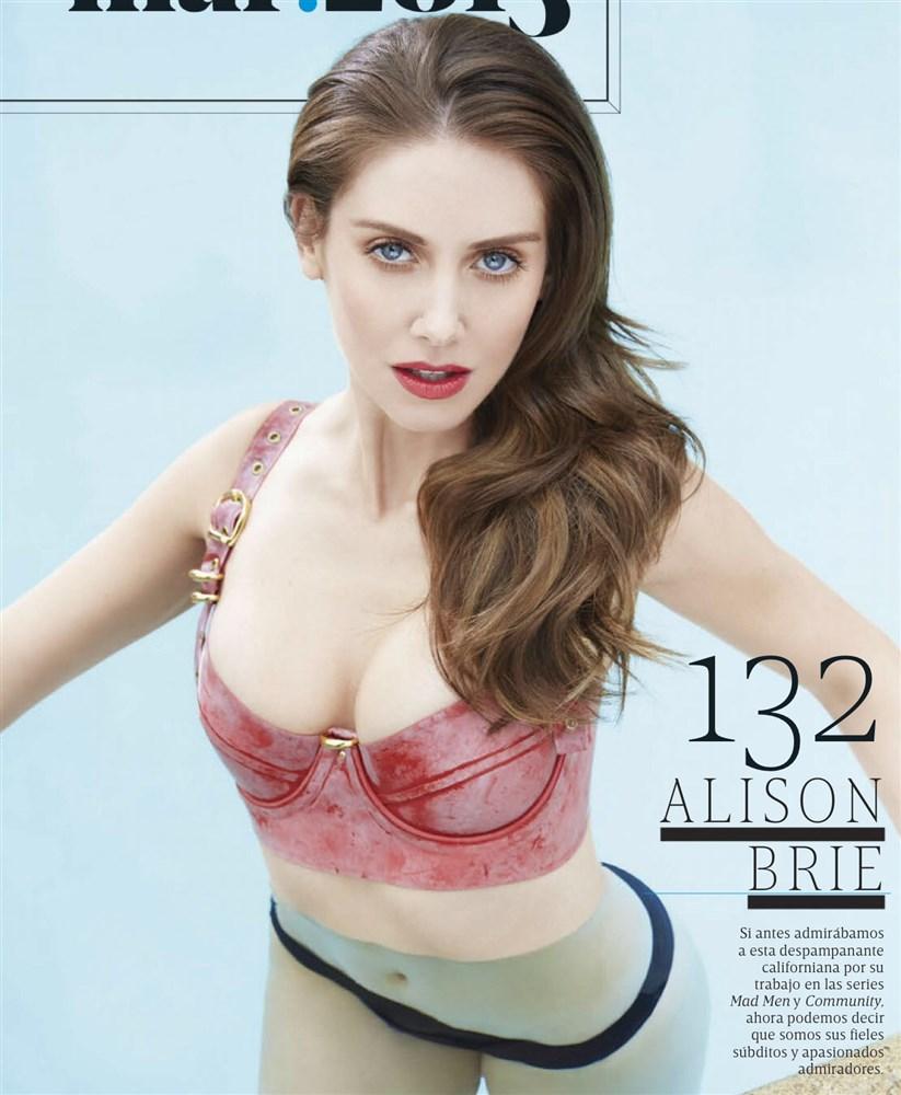 Alison Brie Nude. Photo - 12