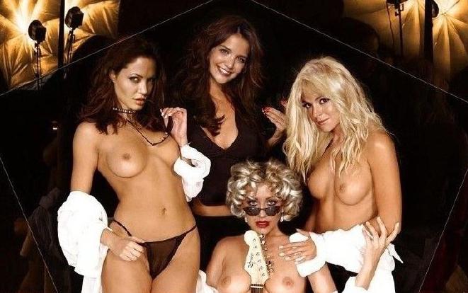 Анджелина Джоли голая. Фото - 160