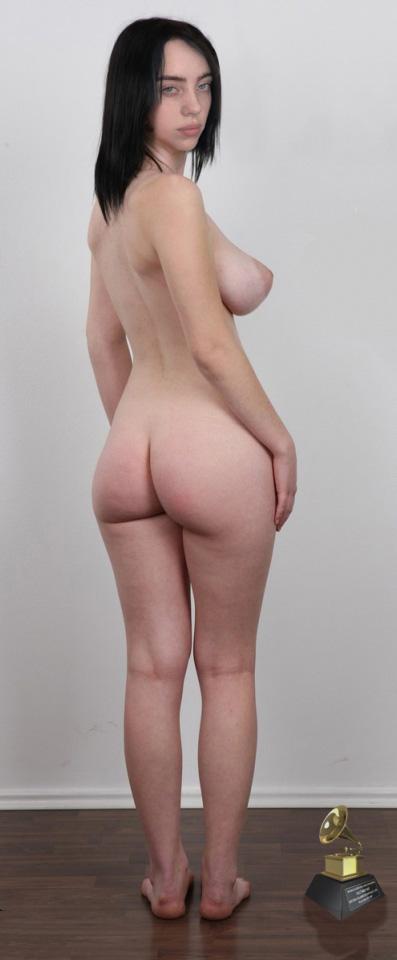 Билли Айлиш голая. Фото - 16