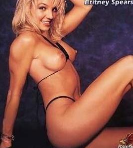 Britney Spears Nackt. Foto - 11