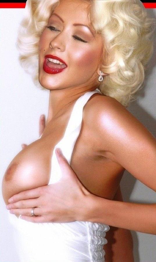 Christina Aguilera Nago. Zdjęcie - 156