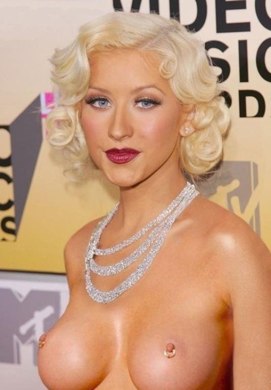 Christina Aguilera Nago. Zdjęcie - 159