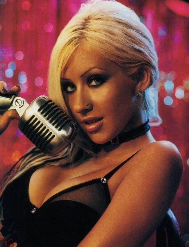 Christina Aguilera Nago. Zdjęcie - 26