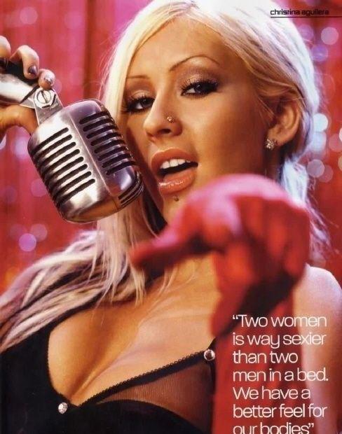 Christina Aguilera Nago. Zdjęcie - 27