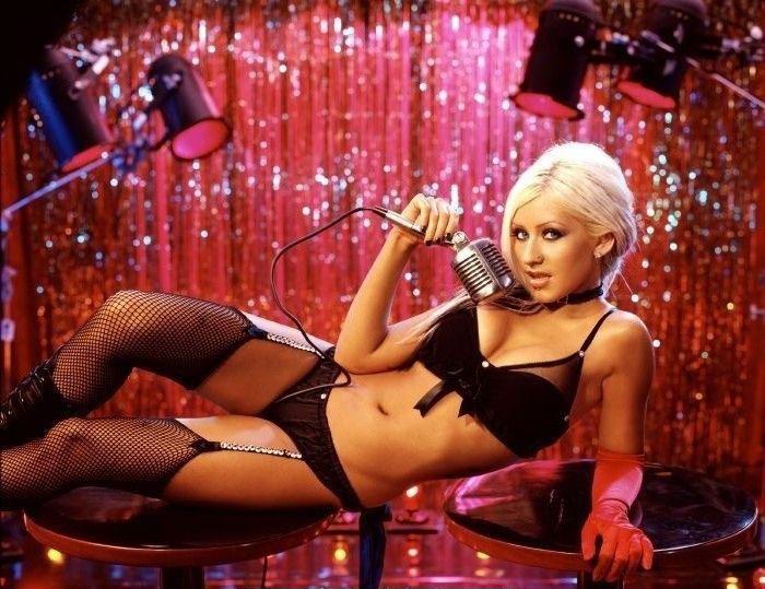 Christina Aguilera Nago. Zdjęcie - 30