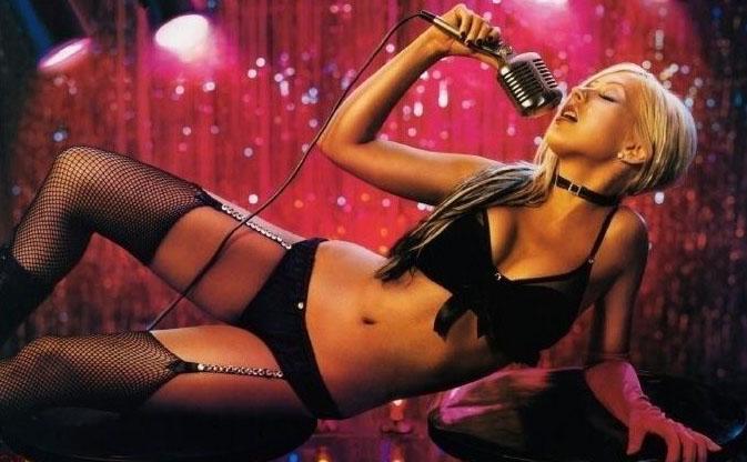Christina Aguilera Nago. Zdjęcie - 31