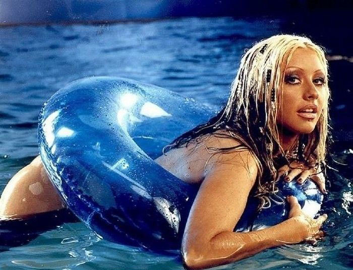 Christina Aguilera Nago. Zdjęcie - 7