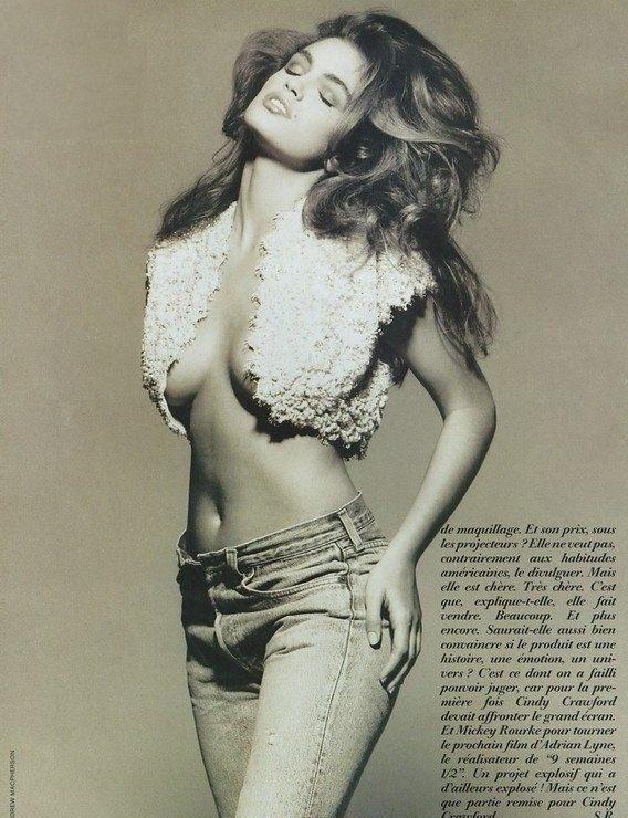 Cindy Crawford Nago. Zdjęcie - 48