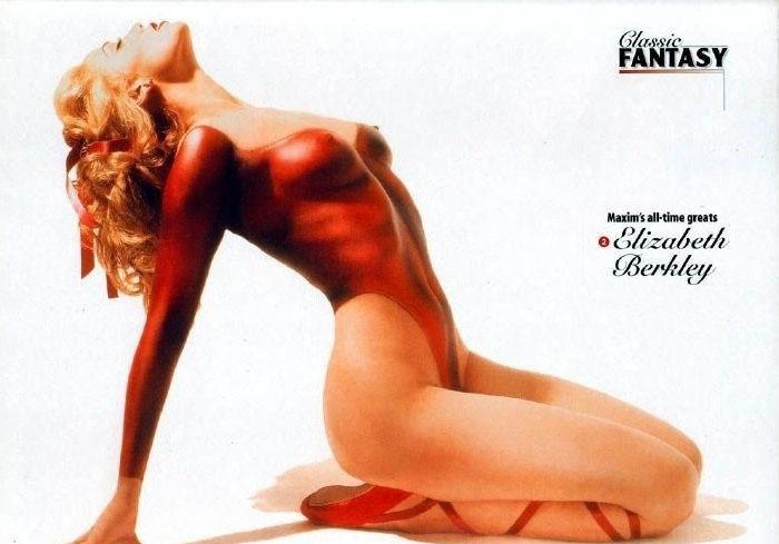 ¿Quién quiere ver los mejores fotos pornográficos de Elizabeth Berkley?