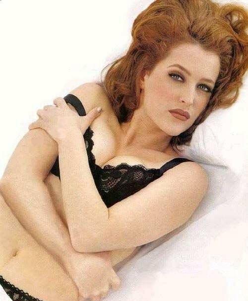 Gillian Anderson Nago. Zdjęcie - 11