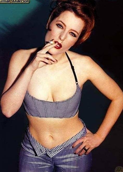 Gillian Anderson Nago. Zdjęcie - 2