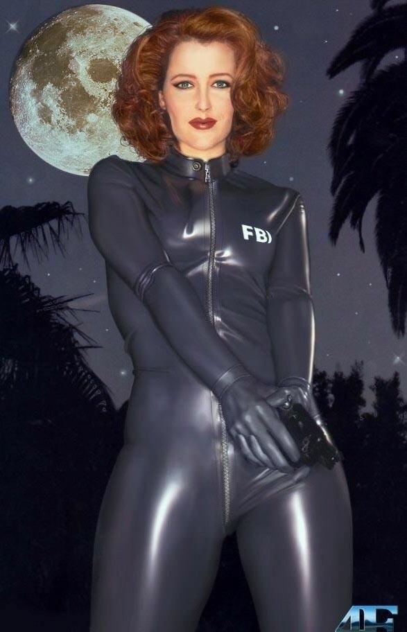 Gillian Anderson Nago. Zdjęcie - 24