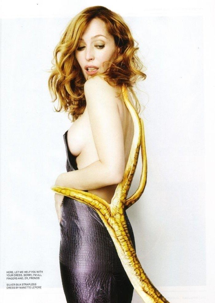 Gillian Anderson Nago. Zdjęcie - 46