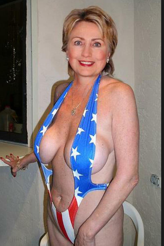 Hillary Clinton Nackt. Foto - 17