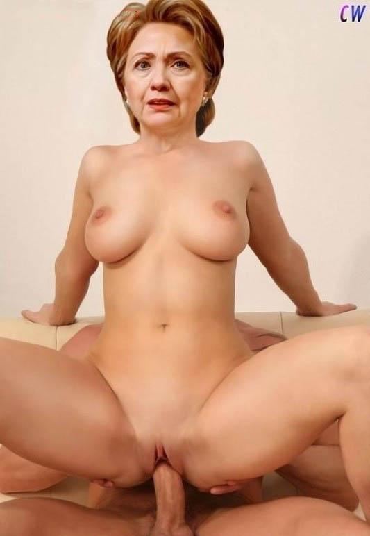 Hillary Clinton Nackt. Foto - 6