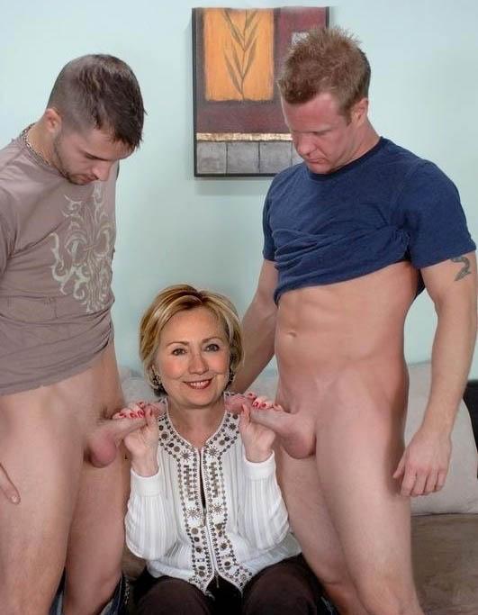 Hillary Clinton Nackt. Foto - 9