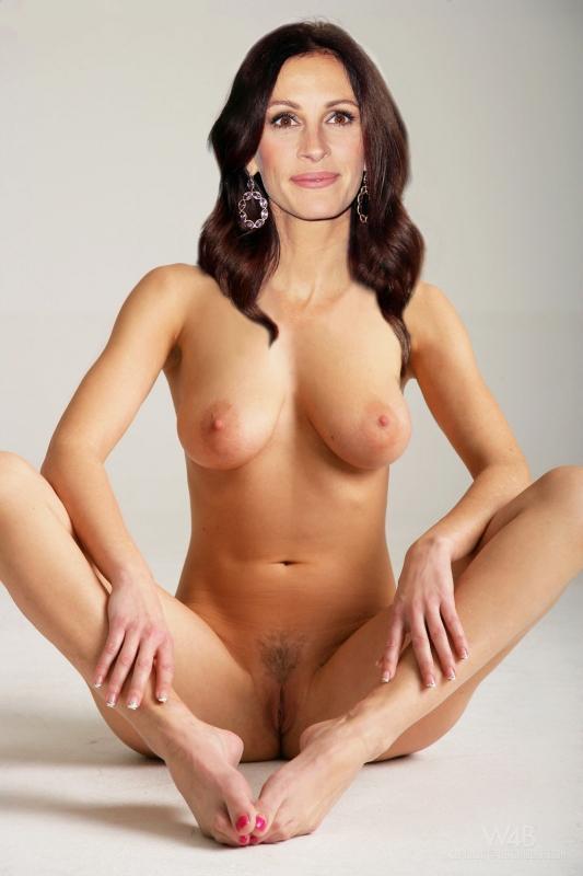 Julia Roberts  nackt