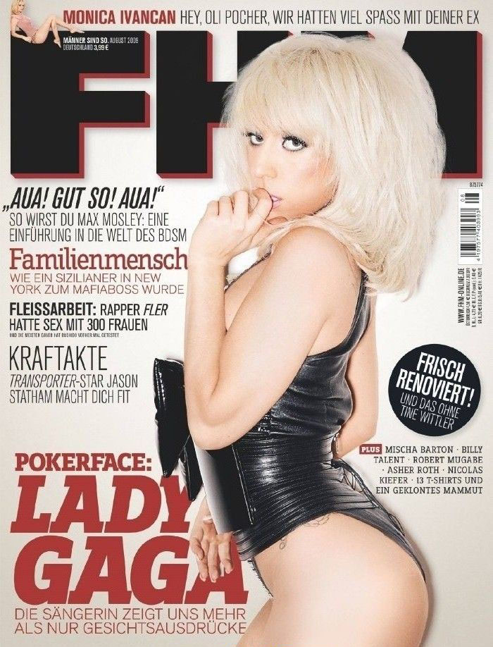 Lady Gaga Nude. Photo - 15