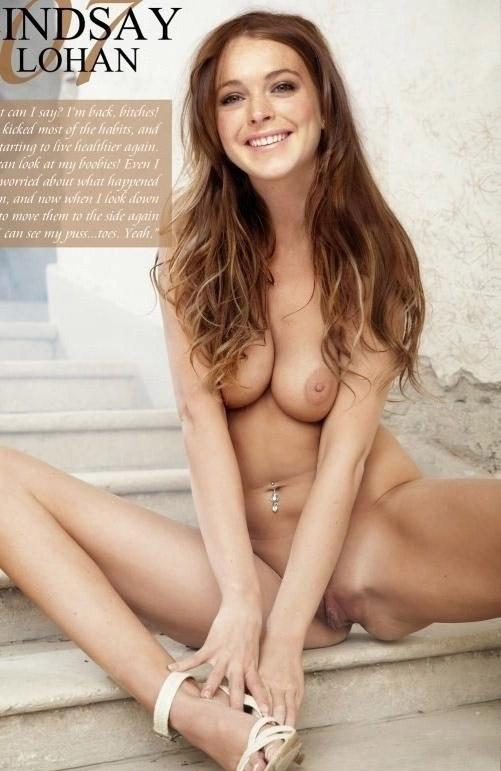 Lindsay Lohan Nago. Zdjęcie - 126
