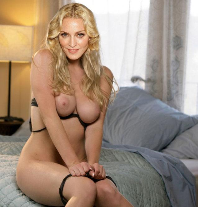 Madonna Nude. Photo - 57