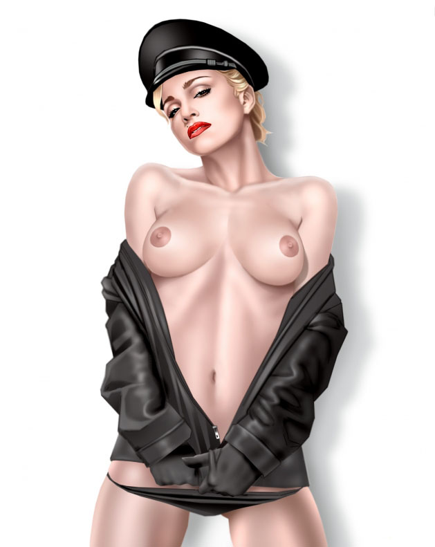 Madonna Nude. Photo - 64