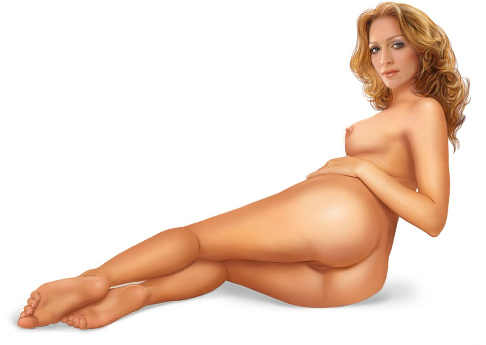 Madonna Nude. Photo - 72