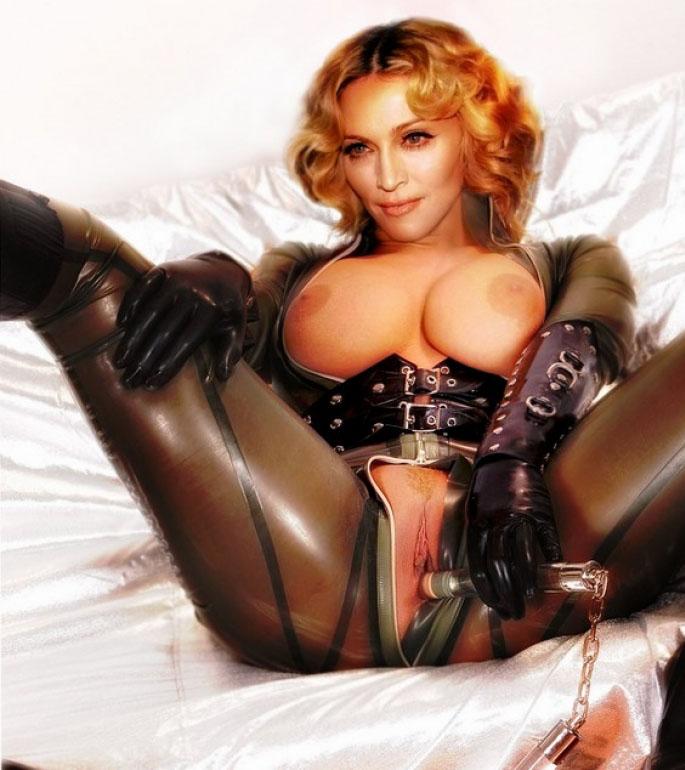 Madonna Nude. Photo - 77