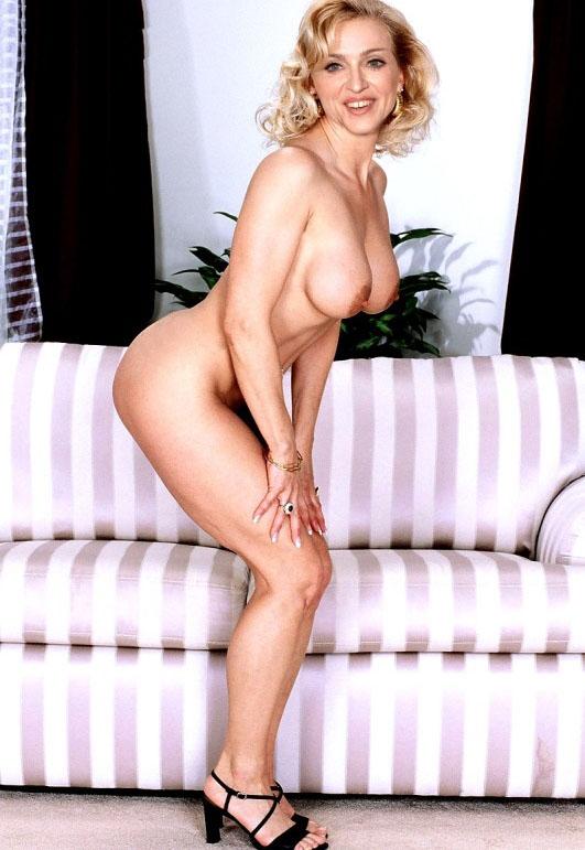 Madonna Nude. Photo - 84