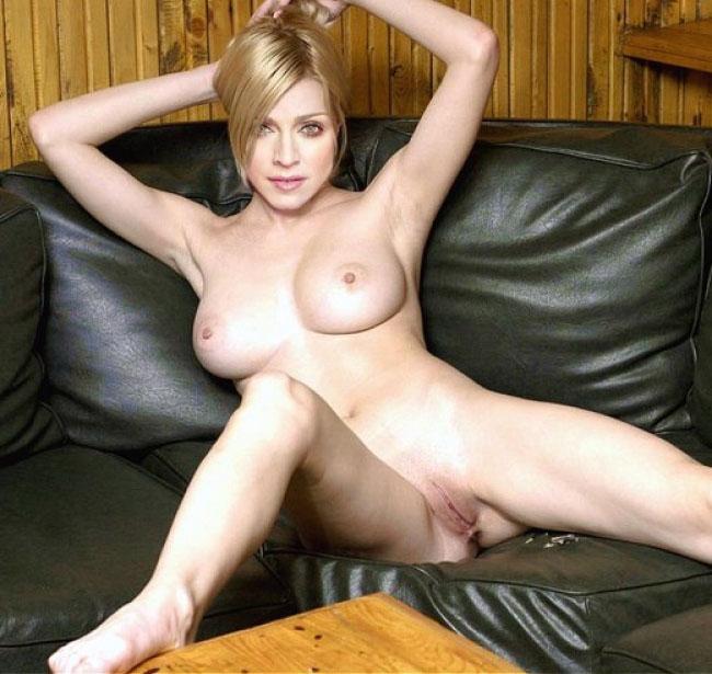 Madonna Nude. Photo - 85