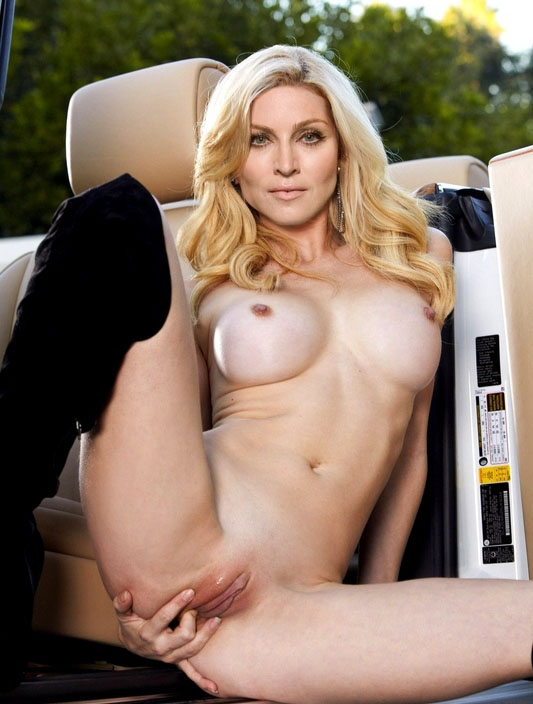 Madonna Nude. Photo - 90