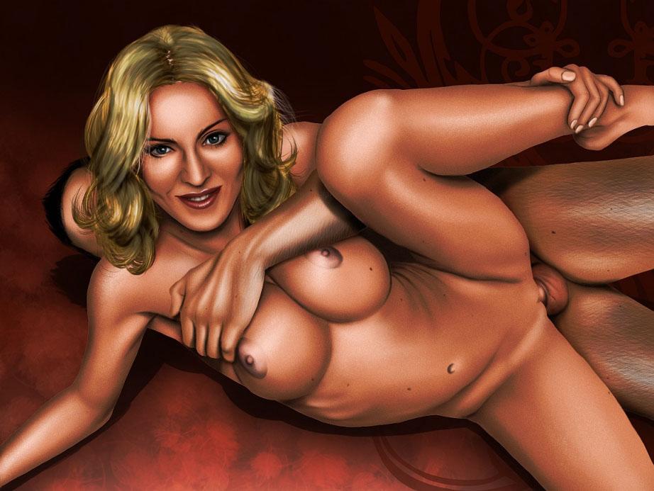 Madonna Nude. Photo - 94