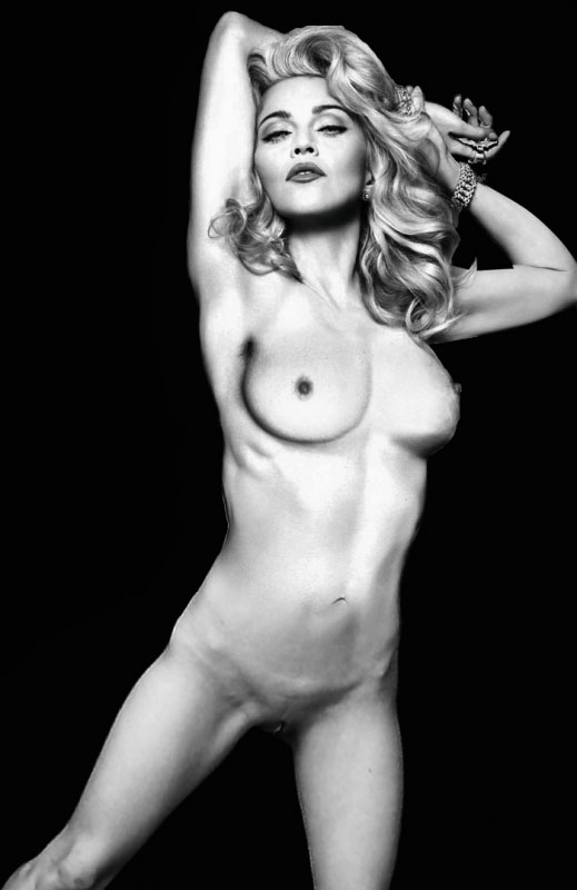 Madonna Nude. Photo - 98