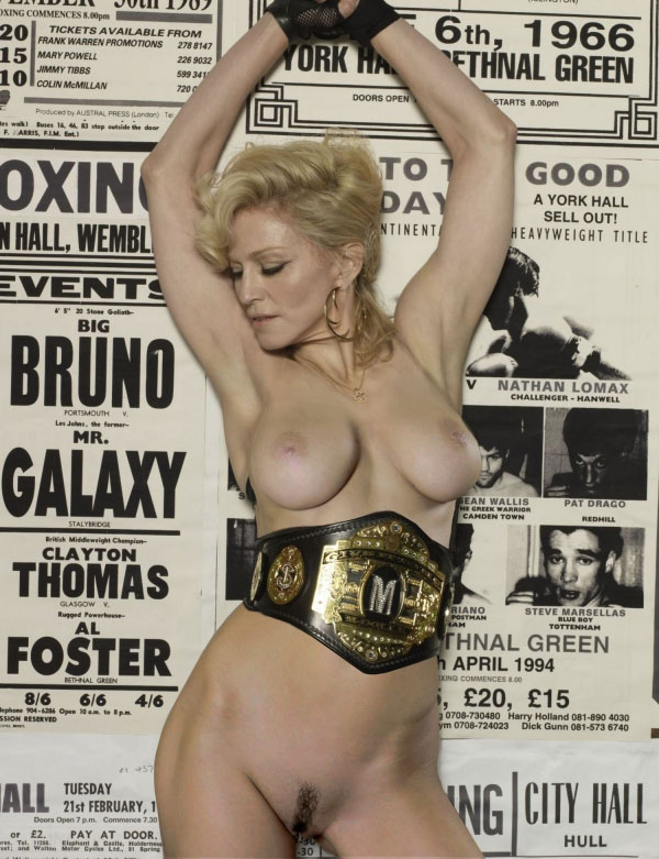 Madonna Nude. Photo - 99
