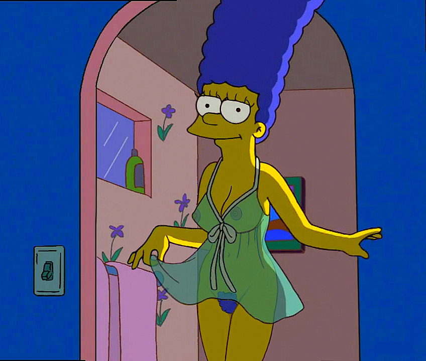 Marge Simpson Nago. Zdjęcie - 14