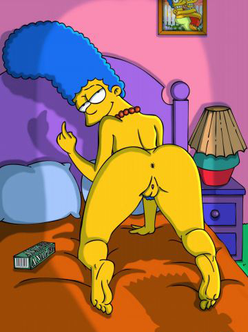 Marge Simpson Nago. Zdjęcie - 2