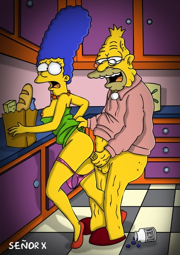 Marge Simpson Nago. Zdjęcie - 20