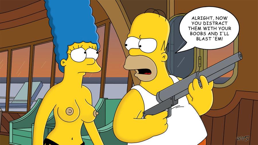 Marge Simpson Nago. Zdjęcie - 24