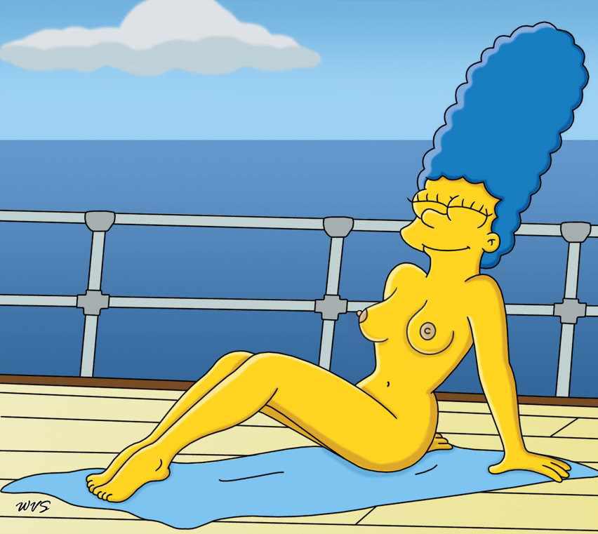 Marge Simpson Nago. Zdjęcie - 27