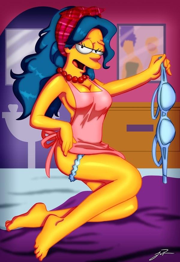 Marge Simpson Nago. Zdjęcie - 28