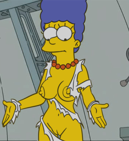 Marge Simpson Nago. Zdjęcie - 3