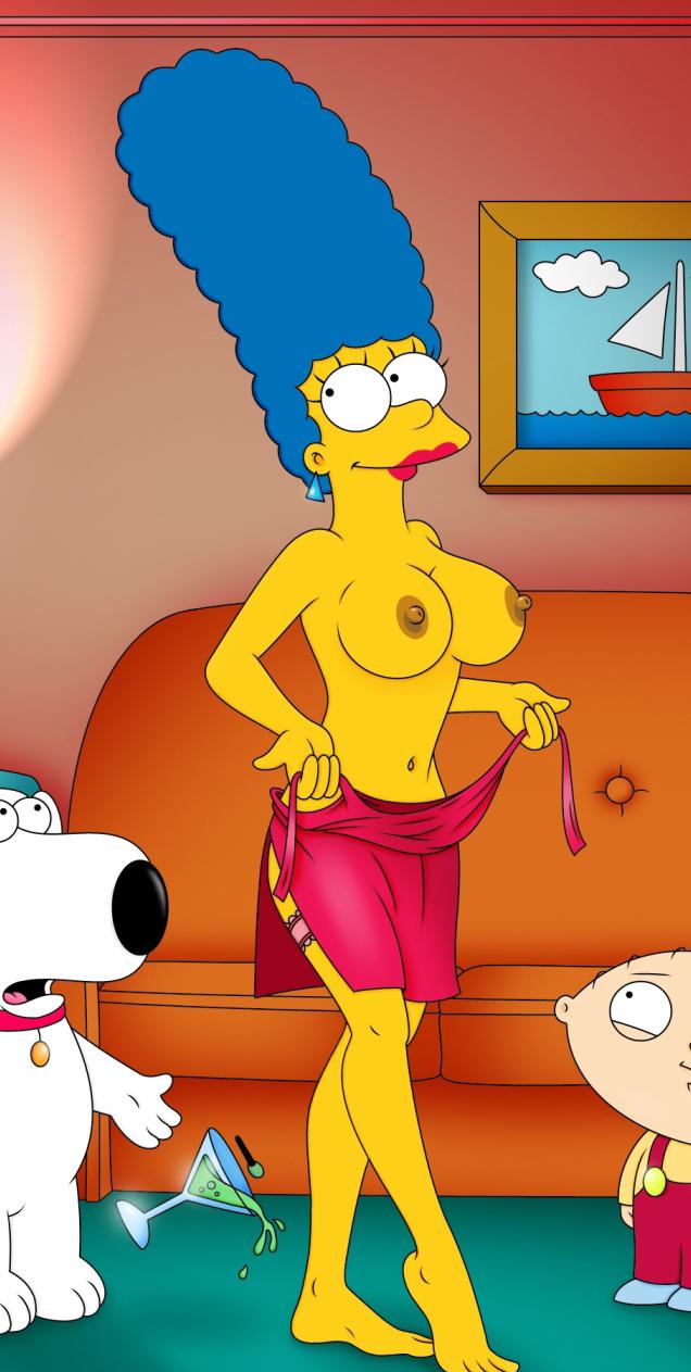 Marge Simpson Nago. Zdjęcie - 32