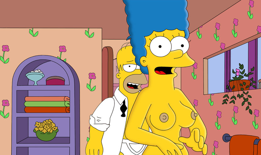 Marge Simpson Nago. Zdjęcie - 34