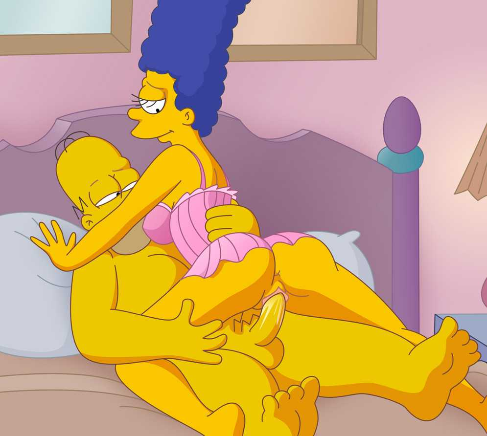 Marge simpson naked having sex