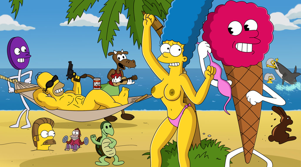 Marge Simpson Nago. Zdjęcie - 40