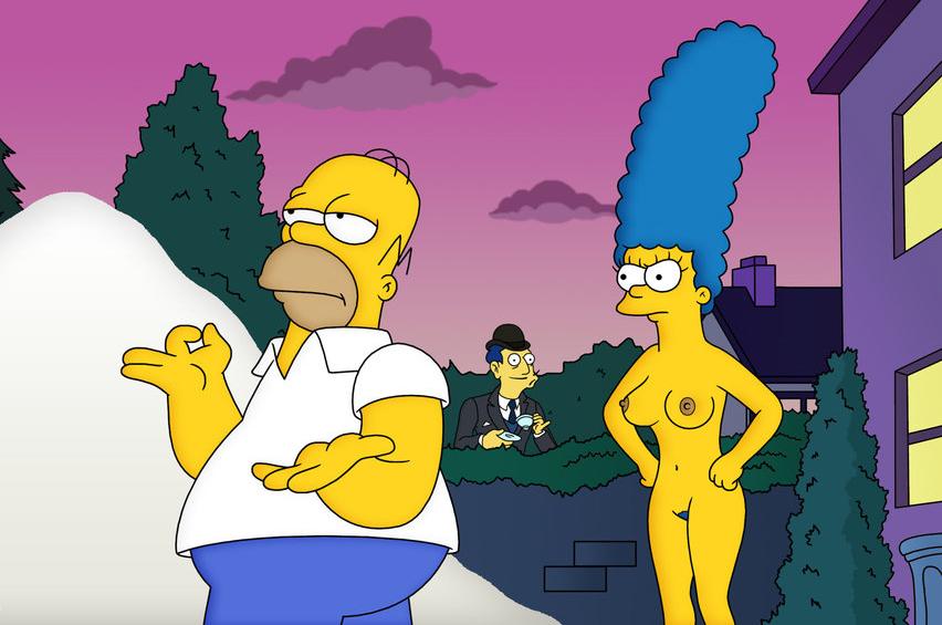 Marge Simpson Nago. Zdjęcie - 43